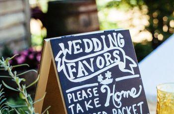 Wedding Favor Ideas That Aren't Useless (or Boring!)