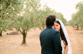 Modern Greek Weddings With Totally Steal-Worthy Details