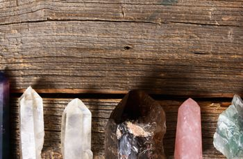 7 Wedding Crystals to Get You Through Planning Chill AF