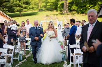 12 of Our Favorite Dad Moments from Real Weddings