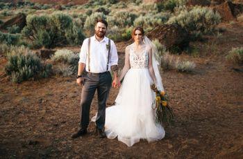 Eclectic Washington Desert Styled Shoot