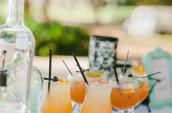 Your Signature Cocktail Based on Your Wedding Month