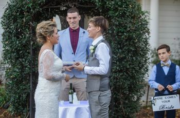 The 4 Rules of Writing Your Own LGBT Wedding Vows