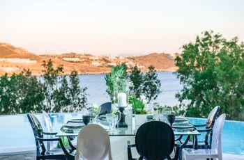 Luxe Greek Seaside Styled Shoot