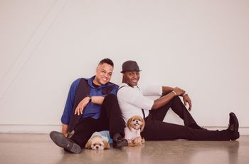 These Engagement Photos With Dogs Will Make You Swoon
