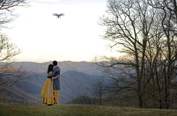 Drone Photography Is the Wedding Trend You Have to See to Believe