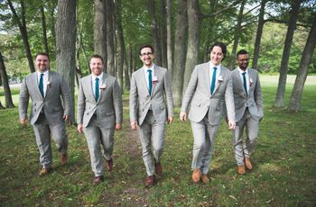 Cocktail and Semi-Formal Attire for Grooms