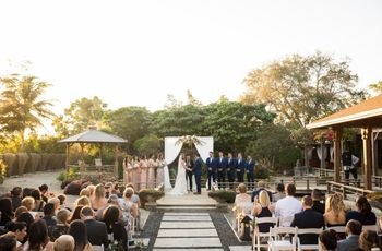 These Garden Wedding Venues in Miami Are Absolutely GORG