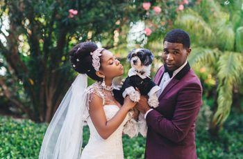 16 Modern Wedding Hairstyles for Black Brides