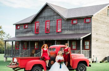 Red Country-Inspired Texas Inn Styled Shoot