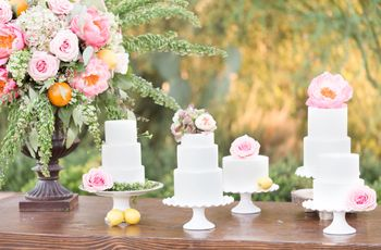 A Dessert Bar for Your Wedding Theme