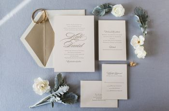 wedding invitation wording decoded