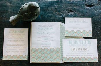 Wording Hotel Room Block Information on Wedding Invitations