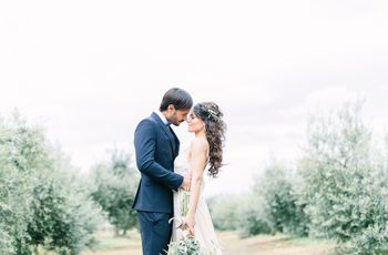 Ethereal Italian Countryside Styled Shoot