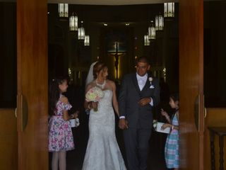The wedding of Sylvia and Ray 1