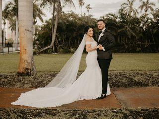 The wedding of Stephanie and Freddy
