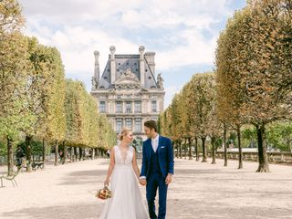 The wedding of Guillaume and Anna