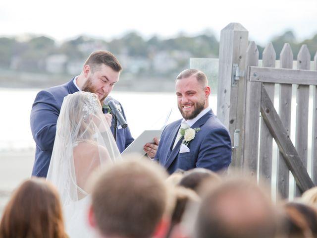 Eddie and Clarissa's Wedding in Middletown, Rhode Island 12