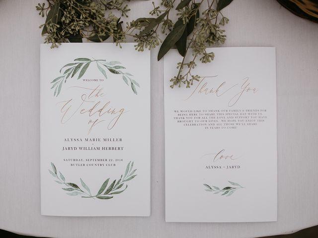 Jaryd and Alyssa's Wedding in Butler, Pennsylvania 1