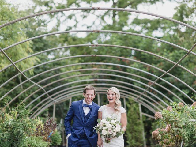 The wedding of Megan and Erik