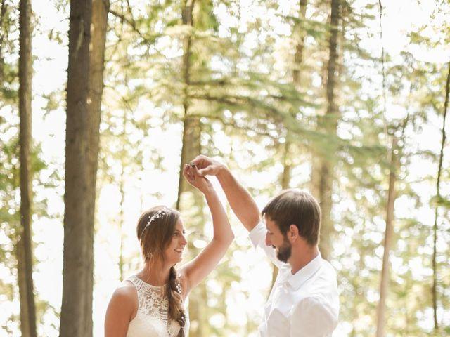Justin Mckinney and Amanda Merrick's Wedding in Coolin, Idaho 2
