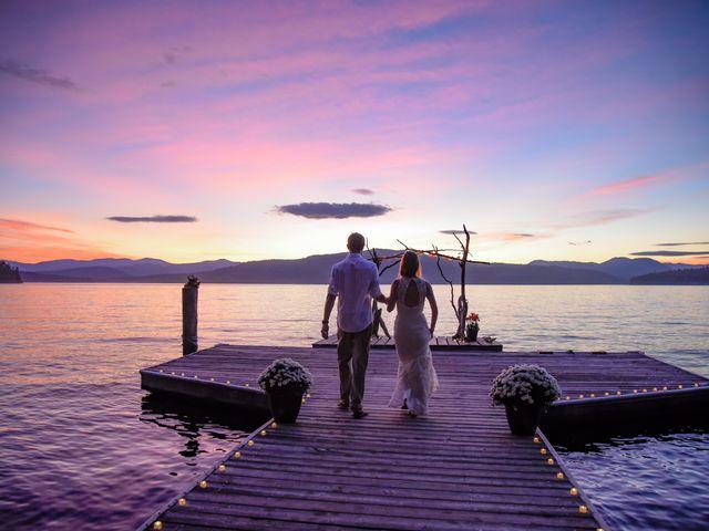Justin Mckinney and Amanda Merrick's Wedding in Coolin, Idaho 3