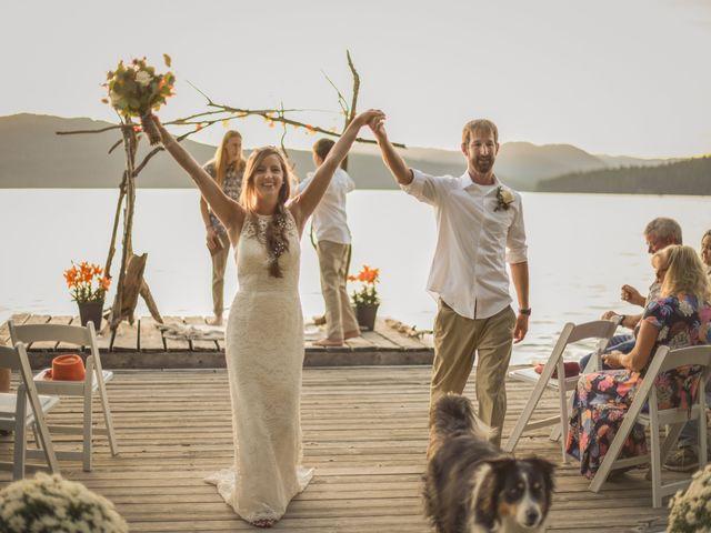 Justin Mckinney and Amanda Merrick's Wedding in Coolin, Idaho 7