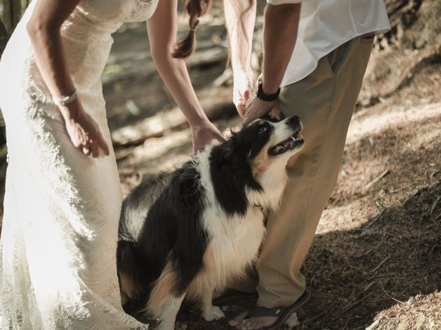 Justin Mckinney and Amanda Merrick's Wedding in Coolin, Idaho 9