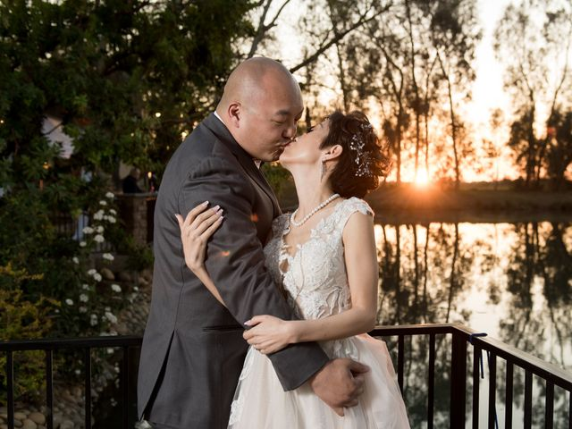 The wedding of Valerie and Mark