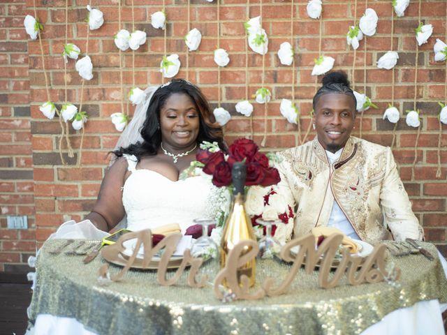 The wedding of Mario and Shaquetta