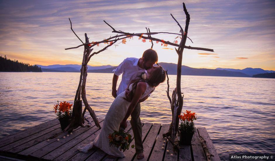 Justin Mckinney and Amanda Merrick's Wedding in Coolin, Idaho