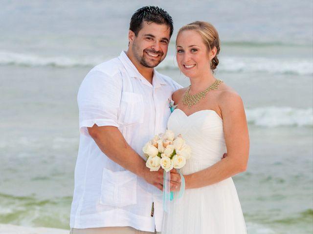 The wedding of Gerardo and Hilary