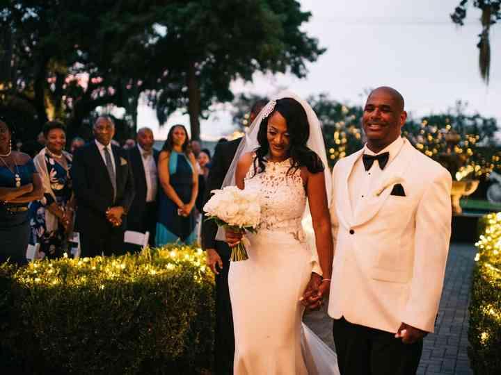 The wedding of Shelita and Michael