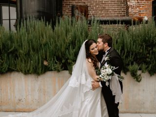 The wedding of Nick and Perrian
