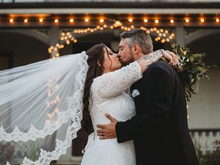 The wedding of Samantha and Brad