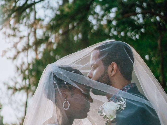Lee and Kaya's Wedding in Youngsville, North Carolina 9