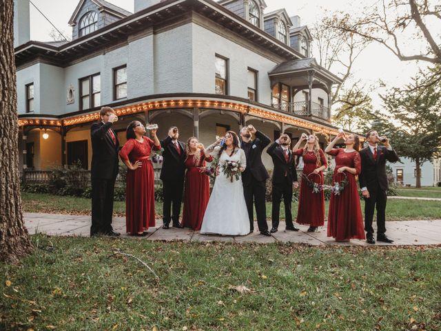 Brad and Samantha's Wedding in Independence, Missouri 8