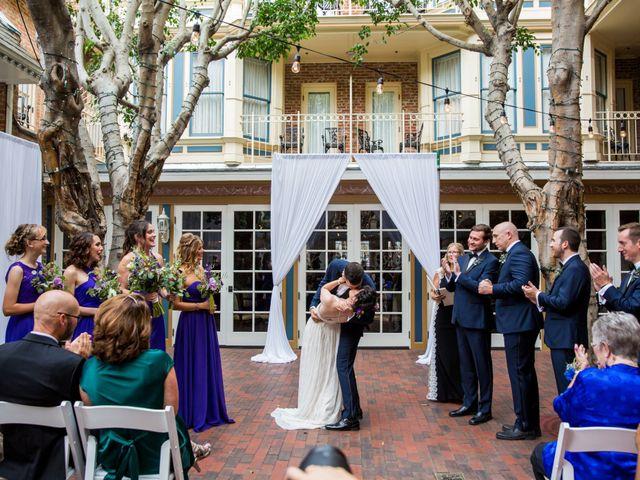 Zach and Hannah's Wedding in San Diego, California 93