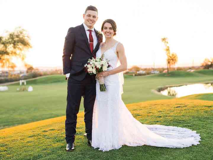 The wedding of Holli and Daniel