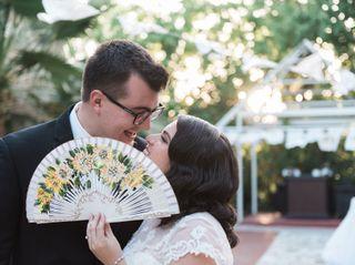 The wedding of Thibaut and Elena