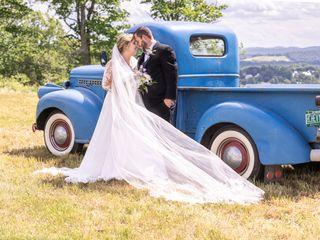 The wedding of Melissa and Josh