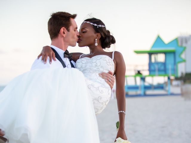 The wedding of Pierrette and Andrew