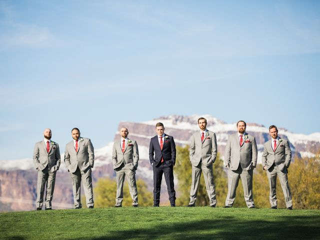 Daniel and Holli's Wedding in Gold Canyon, Arizona 6