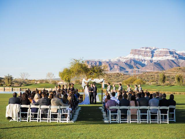 Daniel and Holli's Wedding in Gold Canyon, Arizona 9
