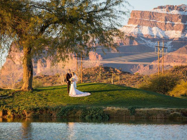 Daniel and Holli's Wedding in Gold Canyon, Arizona 10