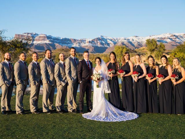 Daniel and Holli's Wedding in Gold Canyon, Arizona 11