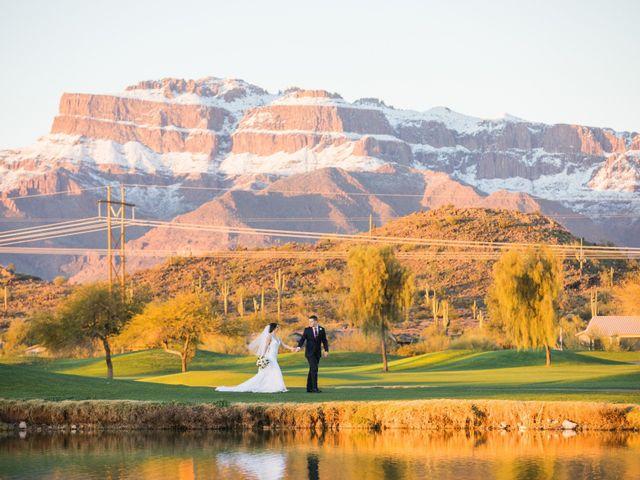 Daniel and Holli's Wedding in Gold Canyon, Arizona 1
