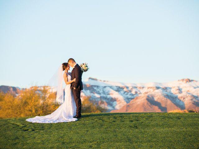Daniel and Holli's Wedding in Gold Canyon, Arizona 14