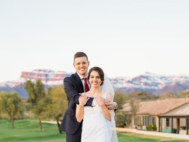 Daniel and Holli's Wedding in Gold Canyon, Arizona 16