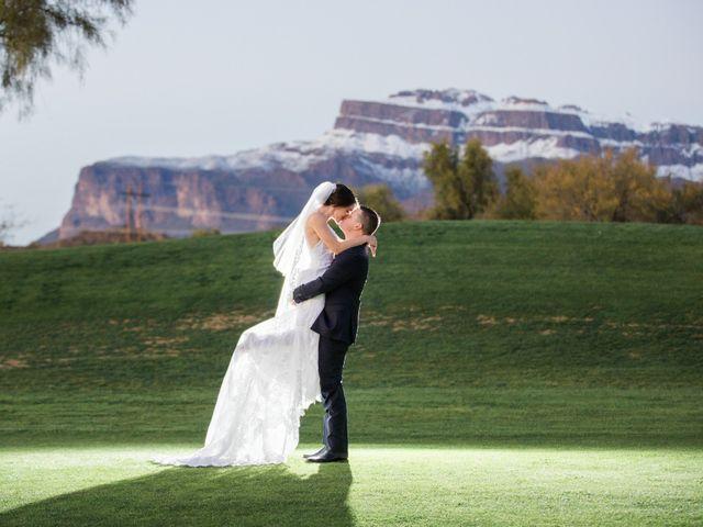 Daniel and Holli's Wedding in Gold Canyon, Arizona 18